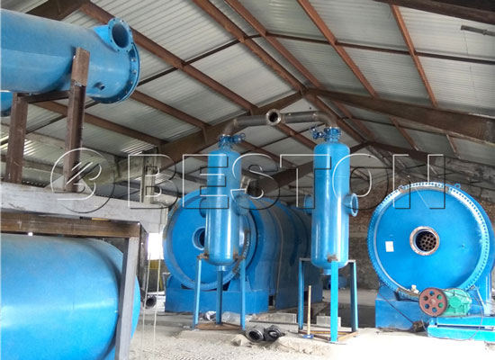 Beston Plastic to Fuel Conversion Plants Installed in Hungary