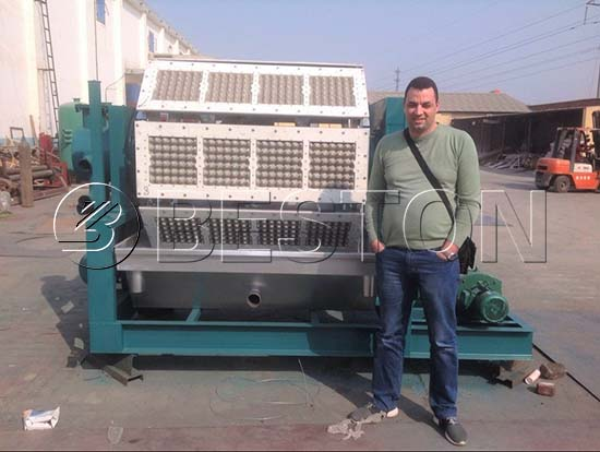 Egg Tray Making Machine to Algeria