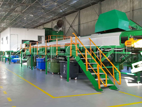 Garbage Recycling Machine