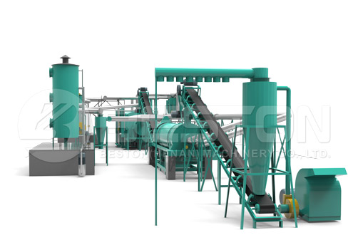 Rice Husk Charcoal Making Machine