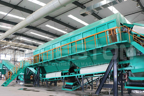 Popularity of Beston Solid Waste Management Plant